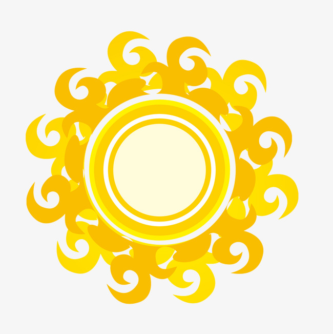650x651 Vector Cartoon Fire Side Of The Sun, Cartoon Vector, Fire Vector