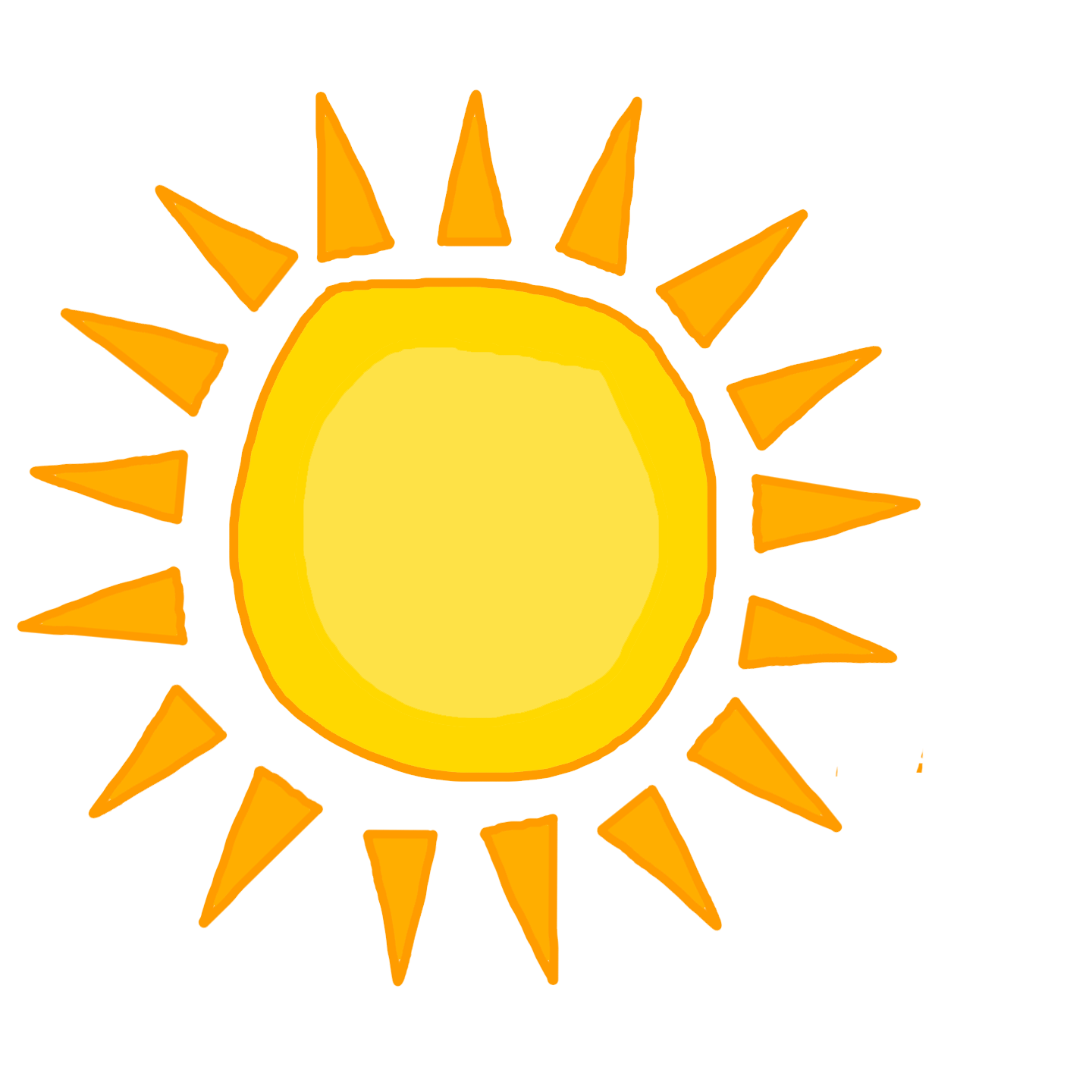 1440x1440 Collection Of Free Sun Vector High Resolution. Download On Ubisafe