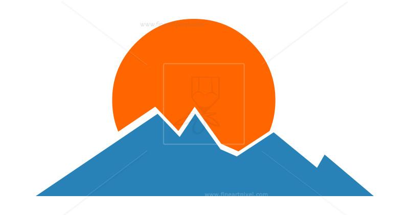 800x421 Rising Sun Vector Free Vectors, Illustrations, Graphics