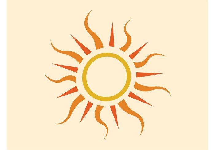 700x490 Sun Logo Free Vector Art