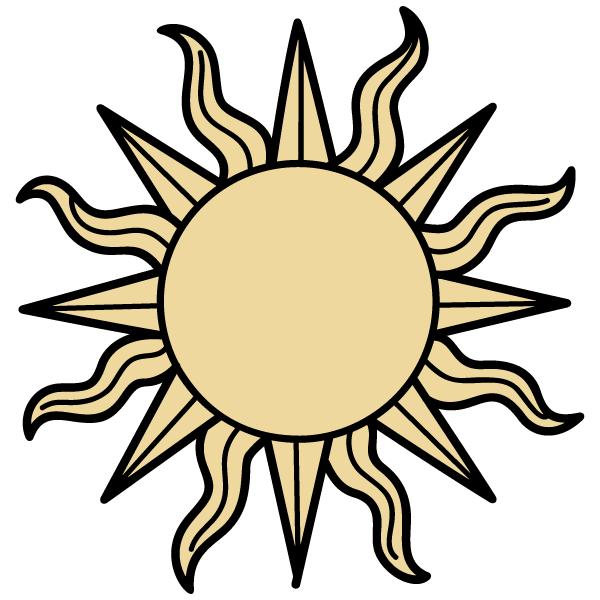 600x600 Sun Vector Illustrator 123freevectors