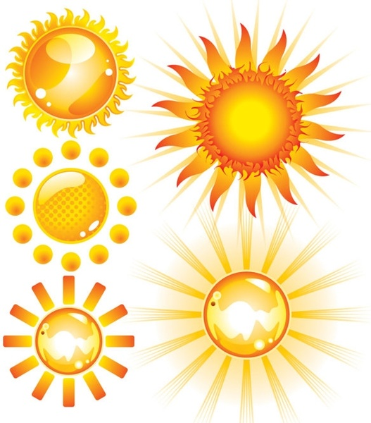 527x600 Sun Free Vector Download (1,764 Free Vector) For Commercial Use