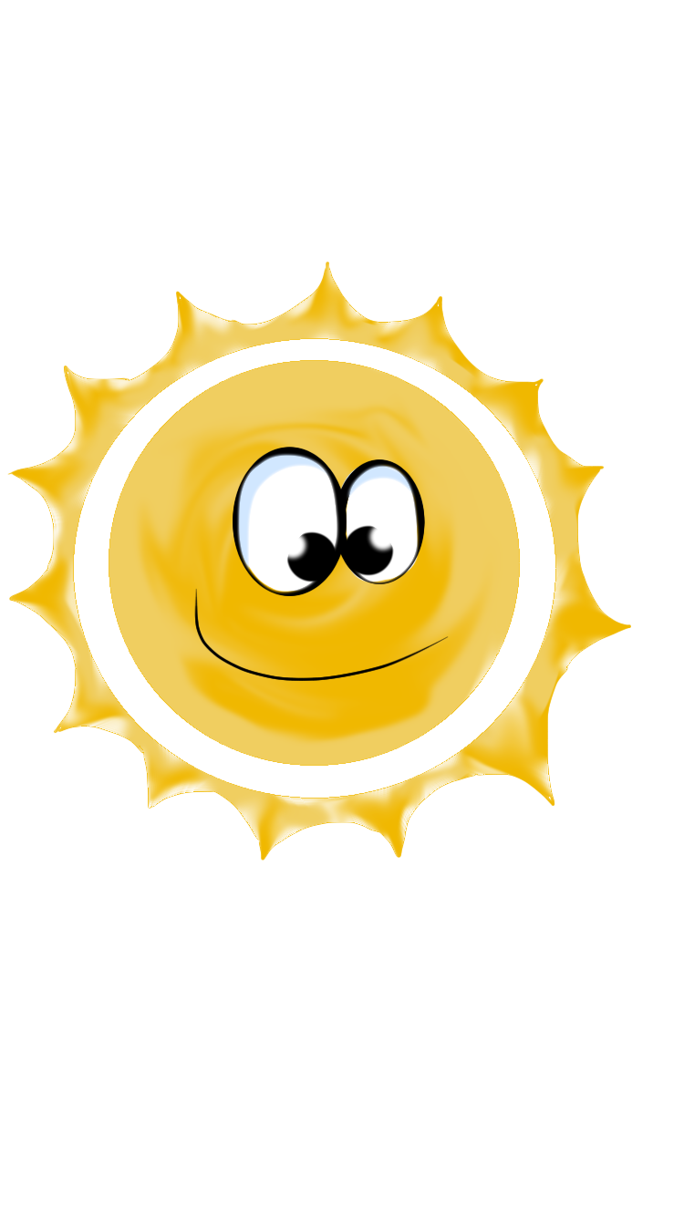 750x1334 Collection Of Free Sun Vector Cartoony. Download On Ubisafe