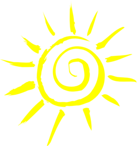 279x298 Simple Sun Yellow Clip Art