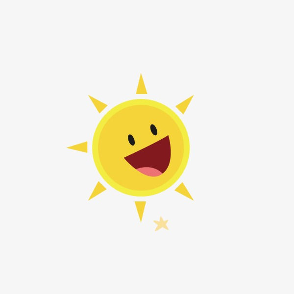 600x600 Sun Cartoon Vector Free Download