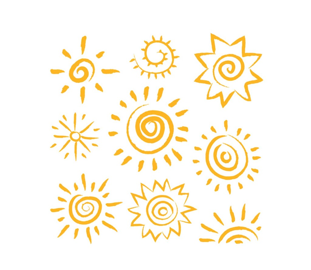 1024x887 Yellow Sun Vector Cartoon Png Element Free Download Png Files