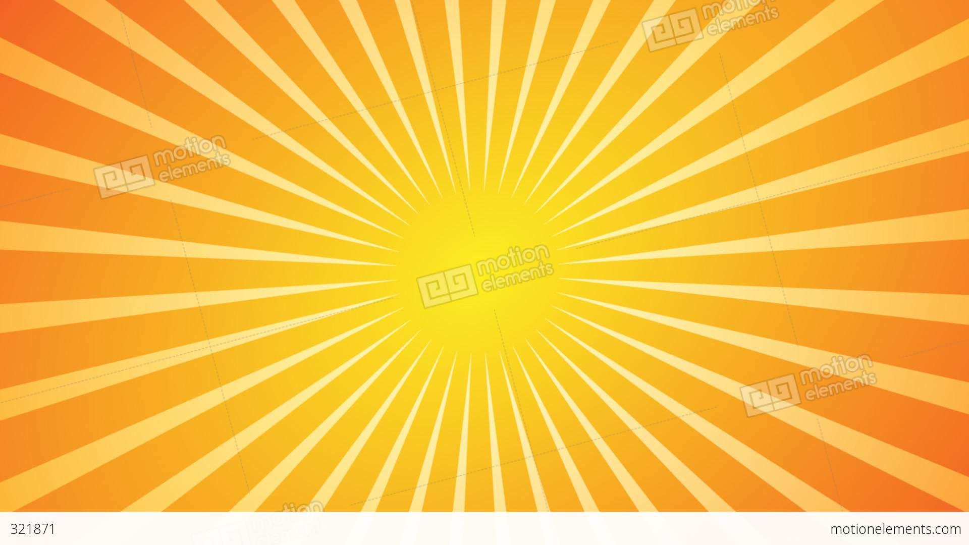 1920x1080 Hot Sunburst Background Stock Animation 321871