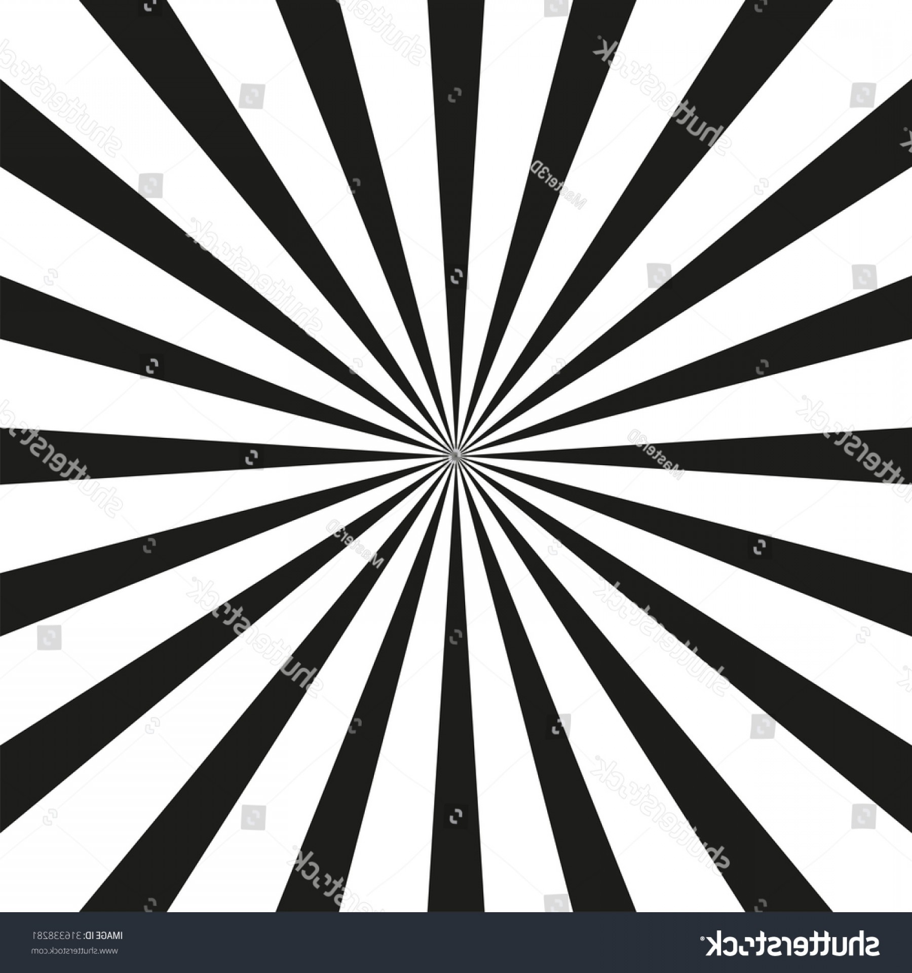 1800x1920 Retro Sunburst Vector Background Black White Sohadacouri
