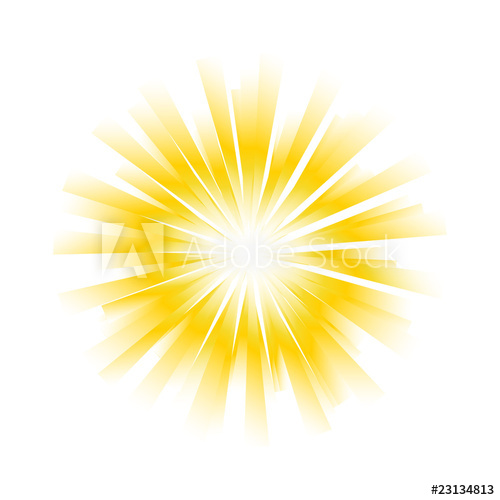500x500 Sunburst Vector Background
