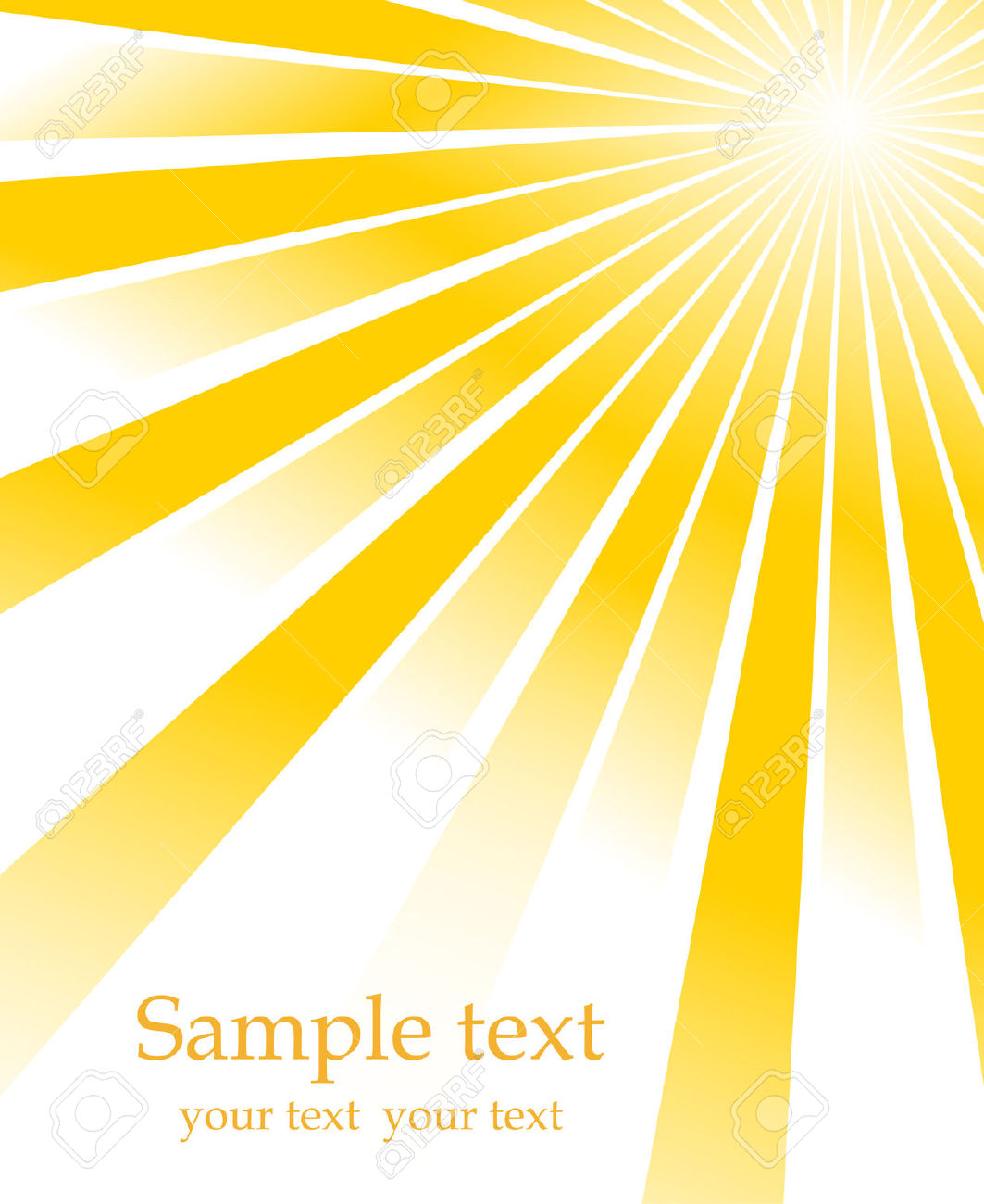 Sunburst Vector Free Download