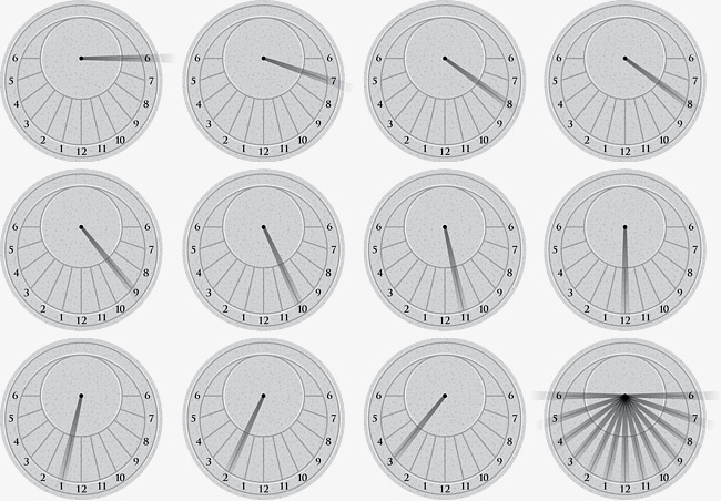 650x452 Vector Sundial, Timing Tool, Ancient Time, Twelve Hours Png And