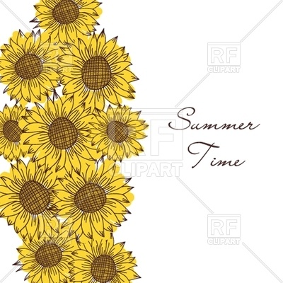 400x400 Seamless Vintage Ornament With Sunflowers Vector Image Vector