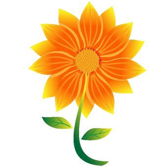 Sunflower Vector Free