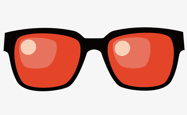 650x400 Black Sunglasses, Vector Diagram, Black Frames, Red Glasses Png