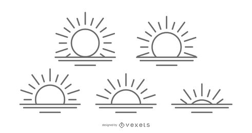 491x260 Sun Vector Amp Graphics To Download