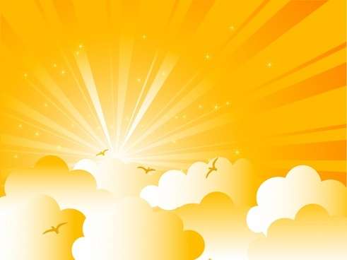 491x368 Sunrise Vector Free Free Vector Download (202 Free Vector) For