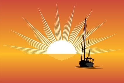 425x286 Palm Sunset Free Vector Download (560 Free Vector) For Commercial