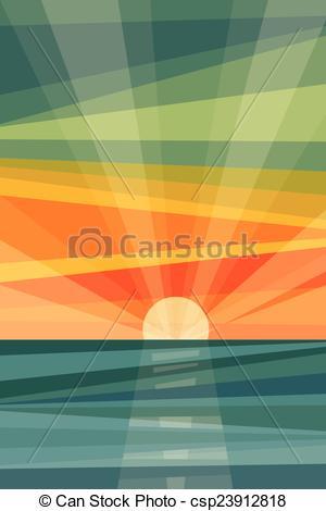 300x470 Sunset Clipart Abstract Beach