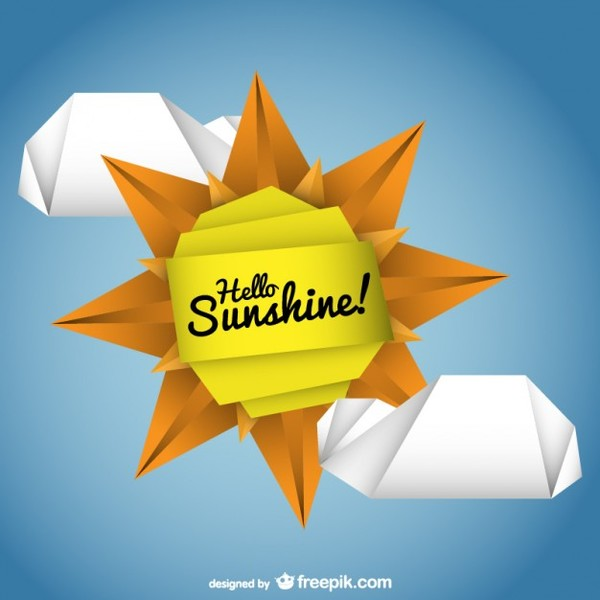 Sunshine Vector Free