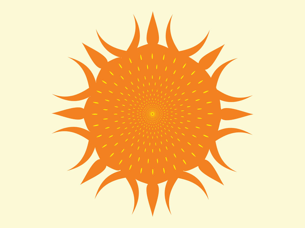 1024x765 Sunshine Vector Vector Art Amp Graphics