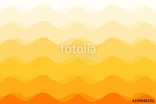 500x334 Wave Abstract Orange Background Sunshine Vector Illustration