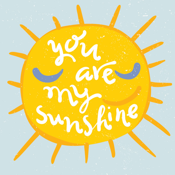 600x600 You Are My Sunshine Vector Graphic Vector Free Vector Download