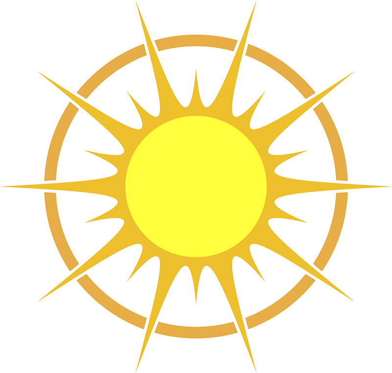 800x761 Cartoon Sun Vector Design Free Download Ai Files