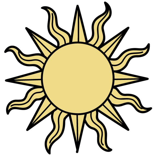 660x660 Collection Of Free Apperil Clipart Sunshine. Download On Ubisafe