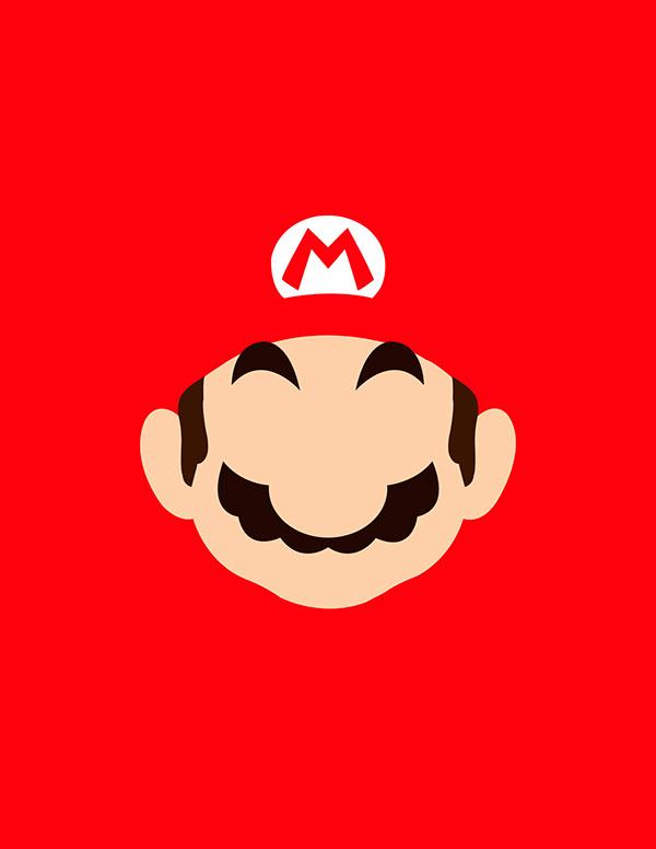 600x776 Super Mario Bros Vector On Behance