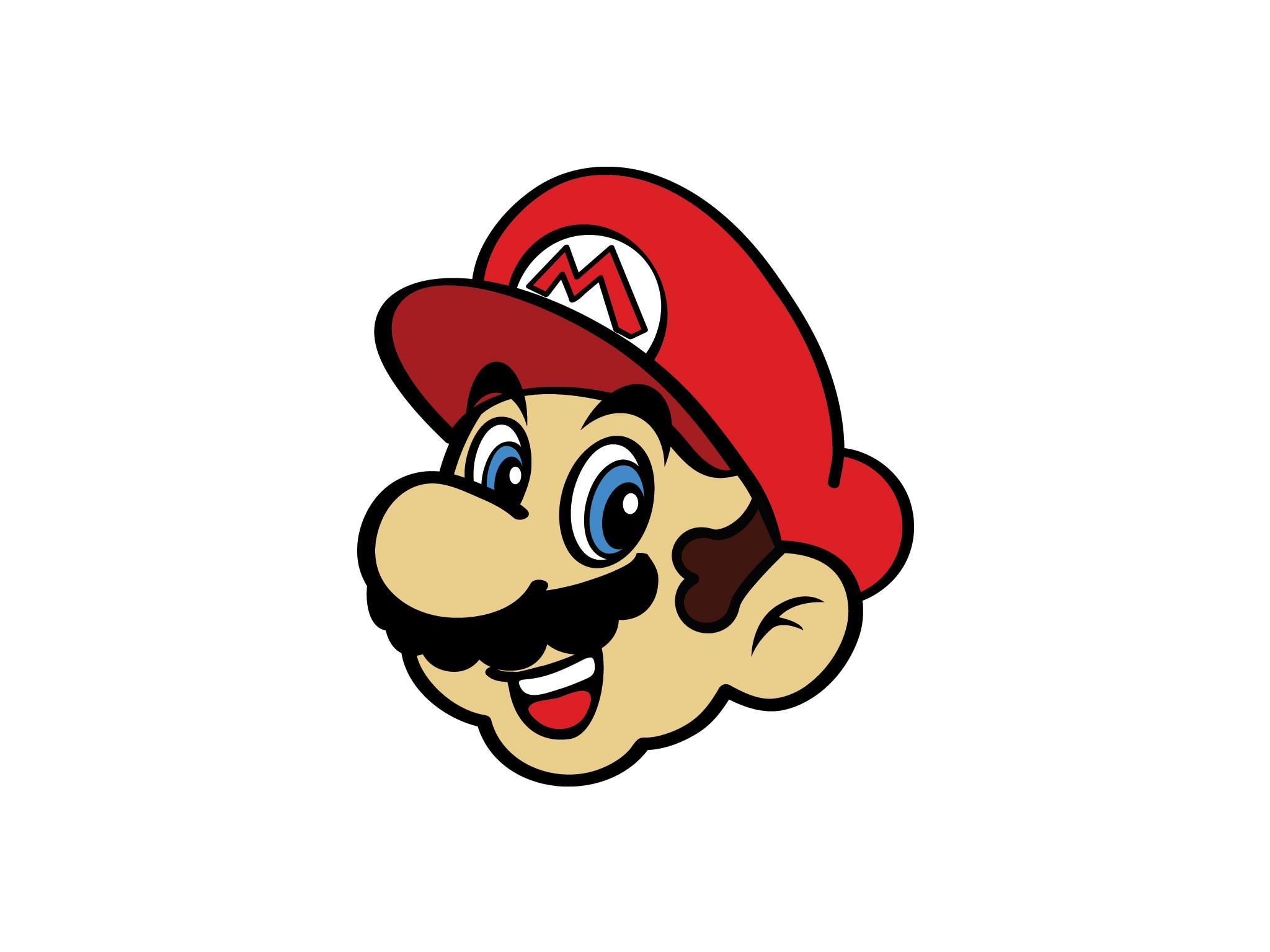 2048x1536 Super Mario Vector File