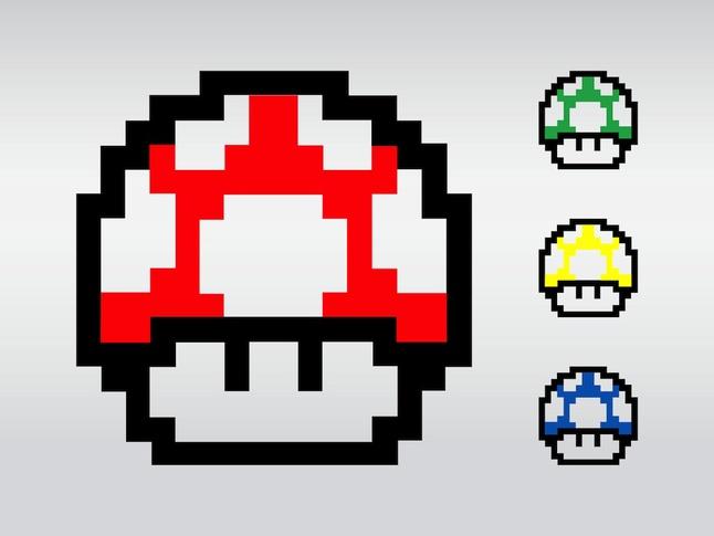 646x485 Colorful Super Mario Game Vector Vector Free Download