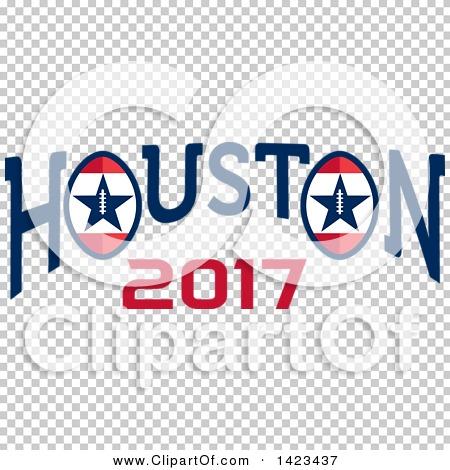 450x470 Clipart Of A Retro Super Bowl 51 Houston 2017 Football Design