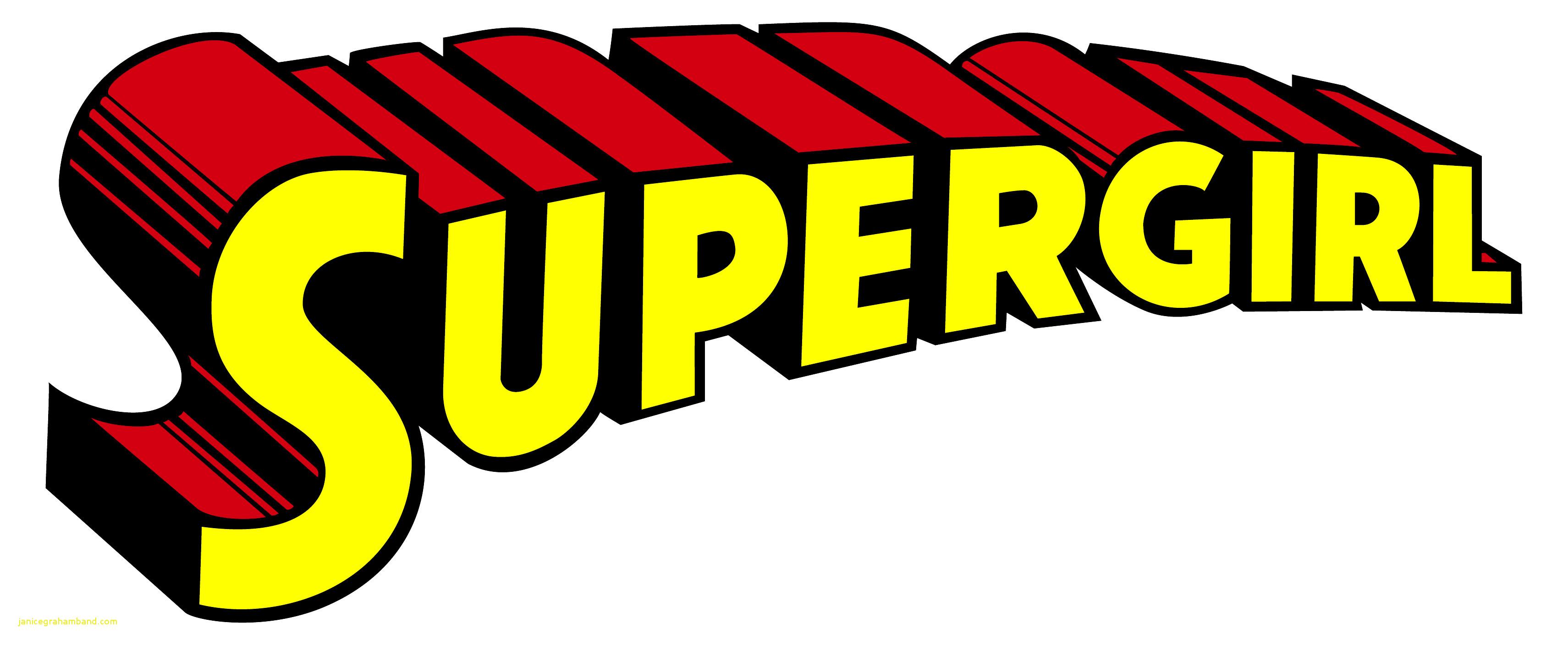 3421x1408 Supergirl Logo Vector Lovely Super Girl Logos Janice Graham