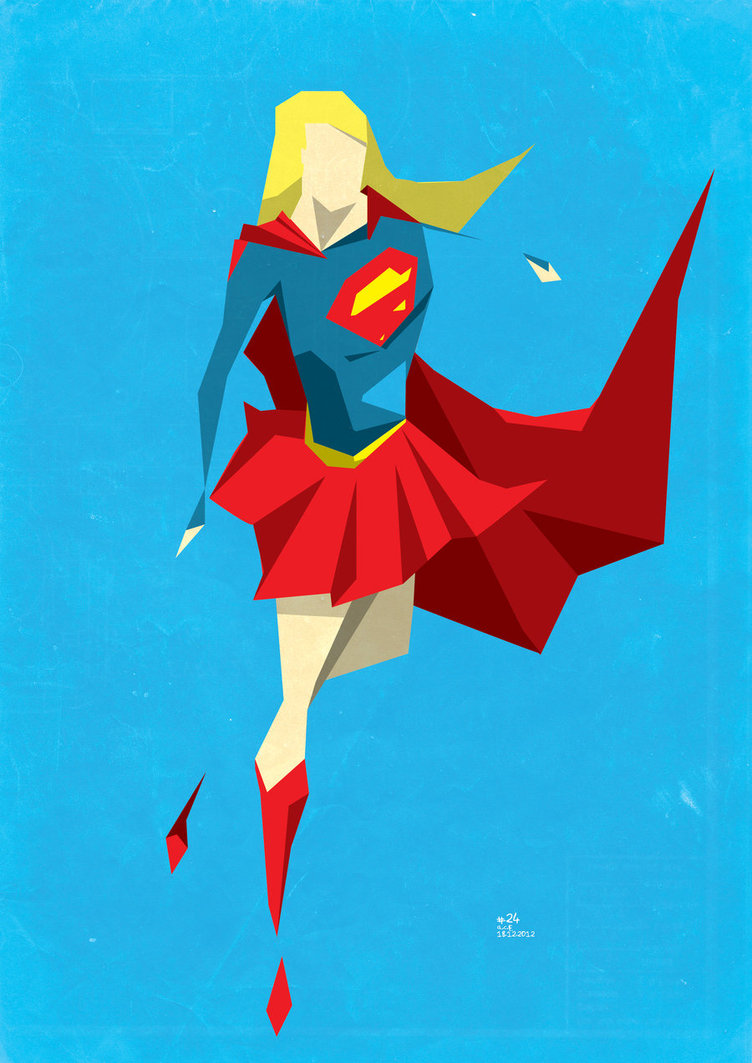 752x1063 24. Supergirl By Colouronly85