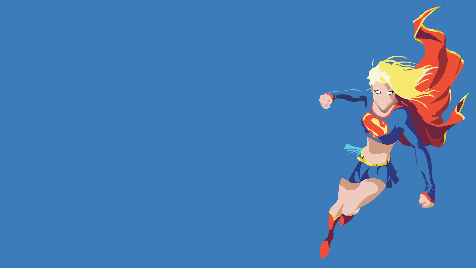 1920x1080 Supergirl Vector Wallpaper [1920x1080] Comicwalls