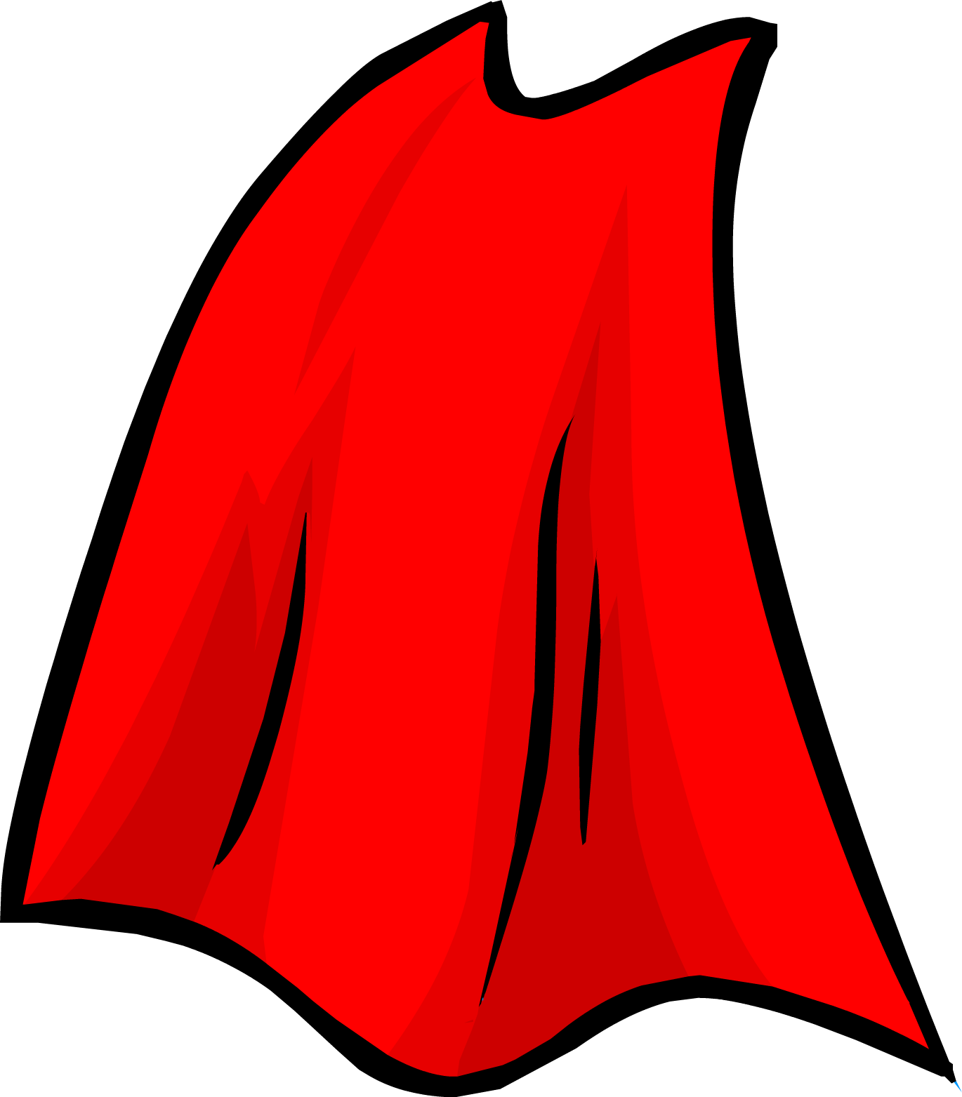 Superhero Cape Vector