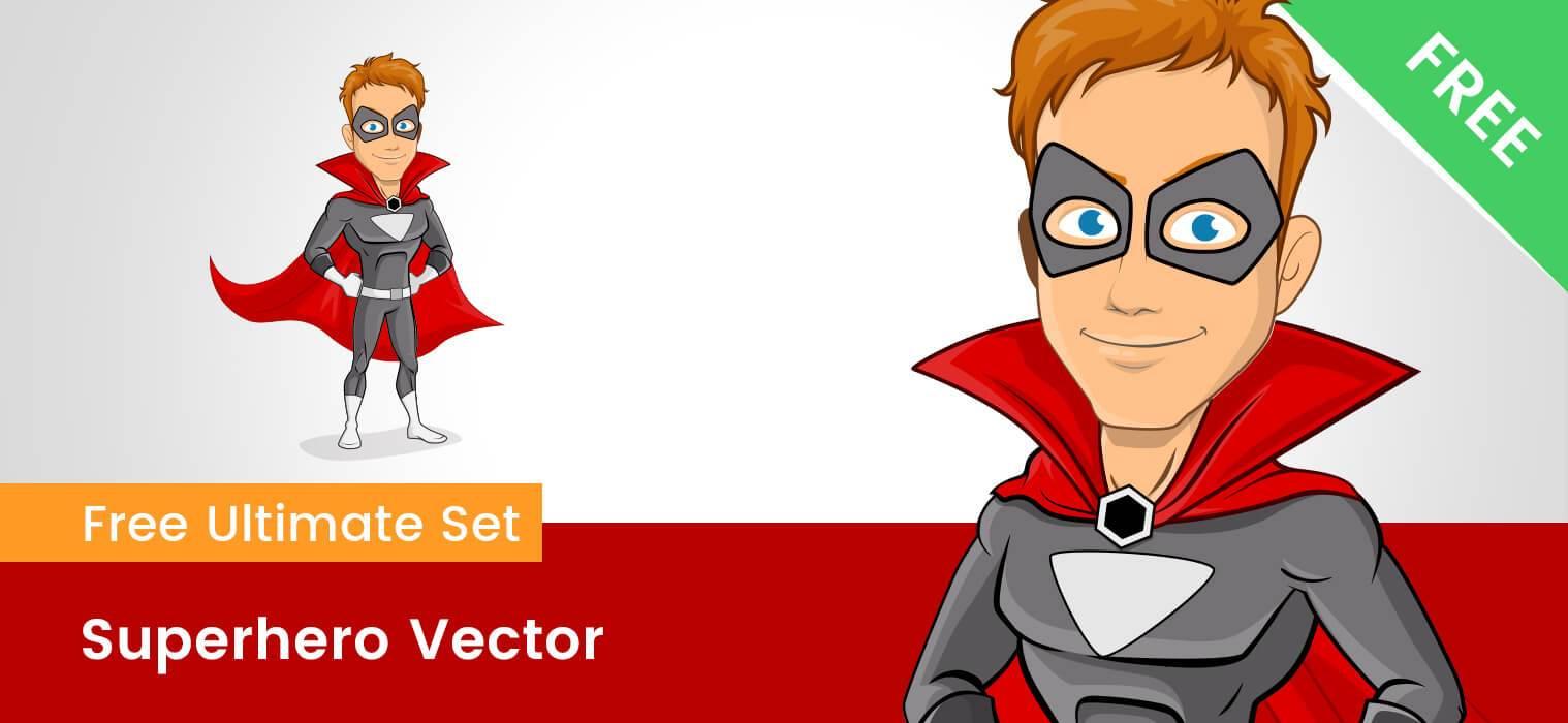 1518x700 Superhero Cape Vector