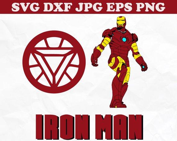 570x456 Iron Man Svg Superhero Logos Vector Superhero Svg Superhero Etsy