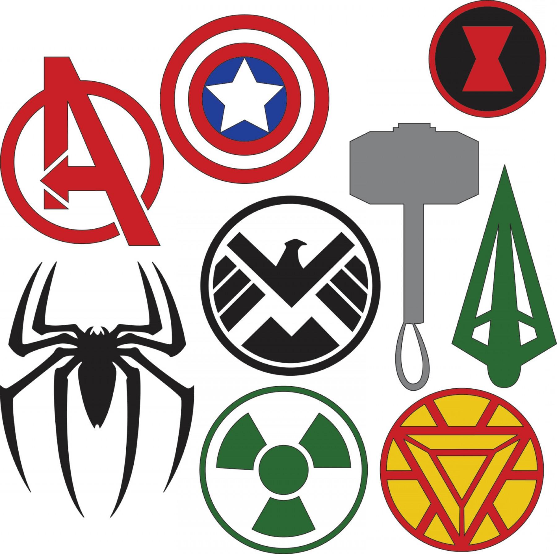 1800x1790 Marvel Superhero Logos Svg Dxf Files Shopatcloth