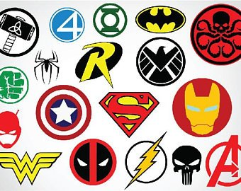 340x270 Marvel Hero Vector Etsy