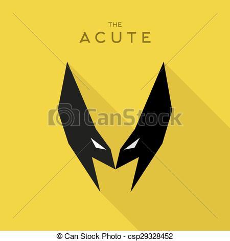 450x470 Mask Acute Hero Superhero Flat Style Icon Vector Logo
