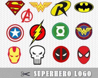 340x270 Superhero Logo Svg Dxf Vector File Silhouette Cricut Flash Wonder