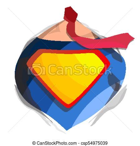 450x470 Superhero Logo Vector. Diamond Shield Symbol Shape. Badge Super