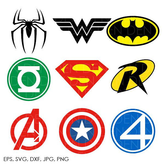 570x570 Collection Of Superhero Logos Clipart High Quality, Free