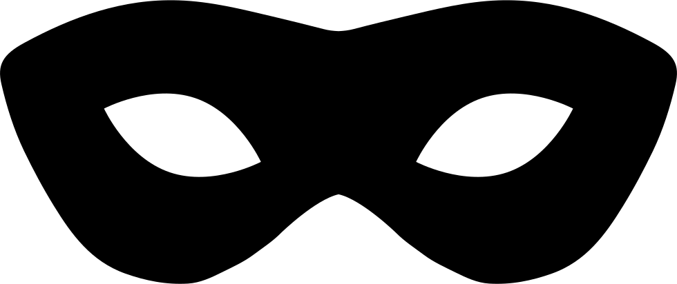 Superhero Mask Vector