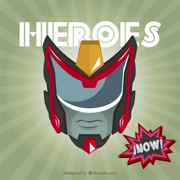 626x626 Superhero Mask Vector Free Download