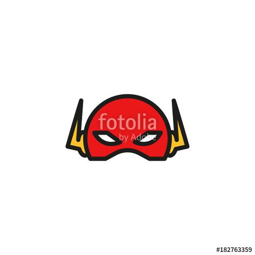500x500 Comic Superhero Mask. Stock Image And Royalty Free Vector Files