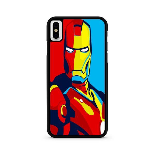 600x600 Iron Man Marvel Superhero Vector Iphone X Case Eternalcase