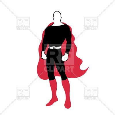 400x400 Super Hero Character Vector Image Vector Artwork Of People