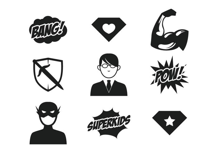 700x490 Superhero Free Vector Art